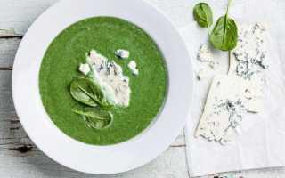 Суп шпинатный рецепт